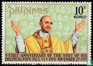 Philippines - Memorial papal visit