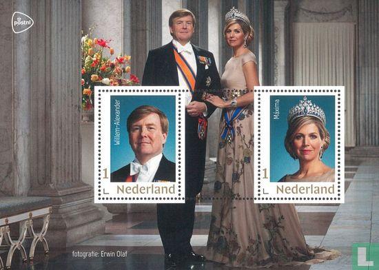 Netherlands [NLD] - Gift sheet Royal house