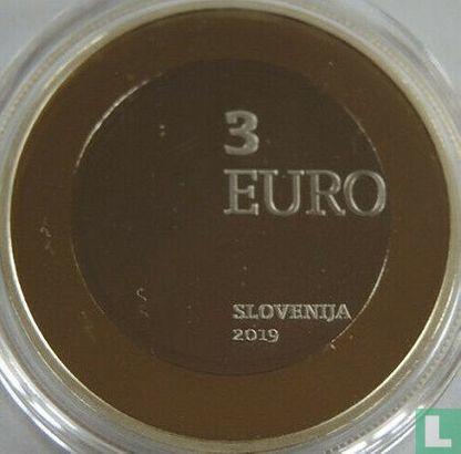 "Slovenia 3 euro 2019 (PROOF) ""Centenary of Prekmurje rejoining its homeland"" - Image 1"