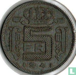 België - België 5 francs 1941 (NLD)