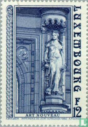 Luxemburg - Standbeeld van Ceres