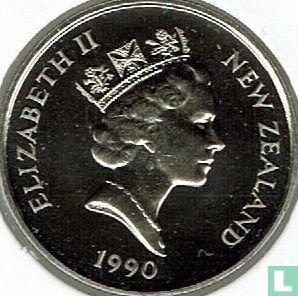 New Zealand 5 cents 1990 - Image 1