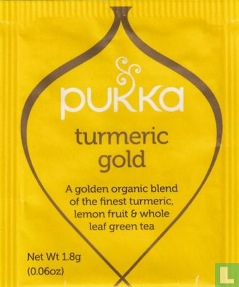 Pukka - turmeric gold