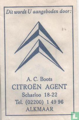 Zakje - A.C. Boots Citroen Agent