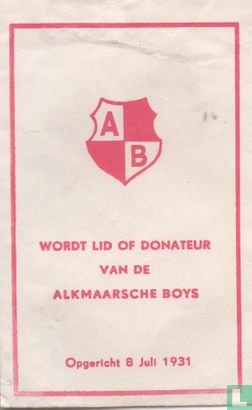 Zakje - Alkmaarsche Boys - AB