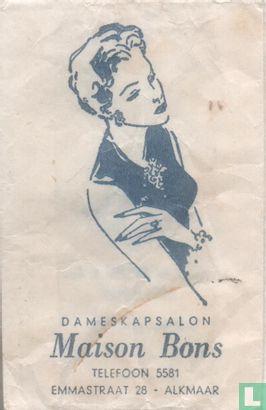 Zakje - Dameskapsalon Maison Bons