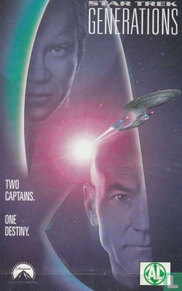 VHS videoband - Star Trek Generations