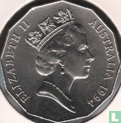 "Australia - Australia 50 cents 1994 ""International Year of the Family"""