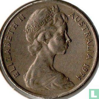 Australia - Australia 20 cents 1974