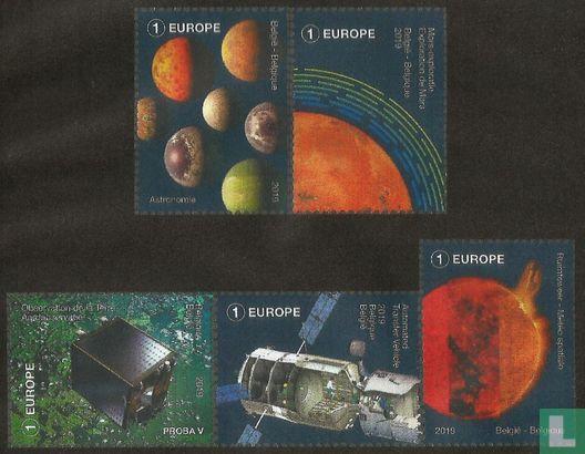 Belgique [BEL] - La Belgique dans l'espace
