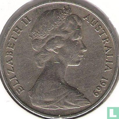 Australia - Australia 20 cents 1969
