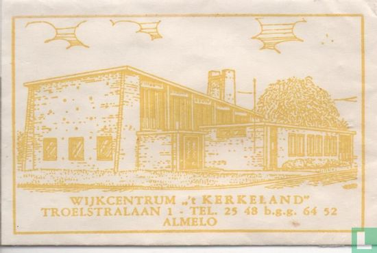 "Bag - Wijkcentrum "" 't Kerkeland"""