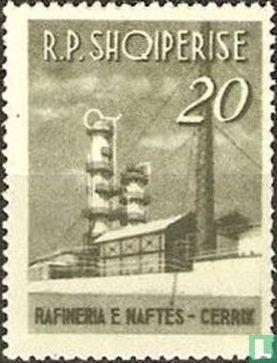 Albanie [ALB] - Raffinerie de pétrole