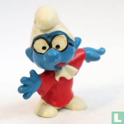 Smurfs, The - Lawyer Glasses Smurf (red gown)