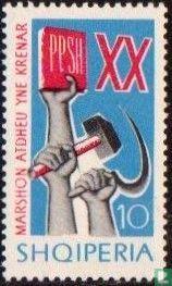 Albanien [ALB] - Hammer und Sichel