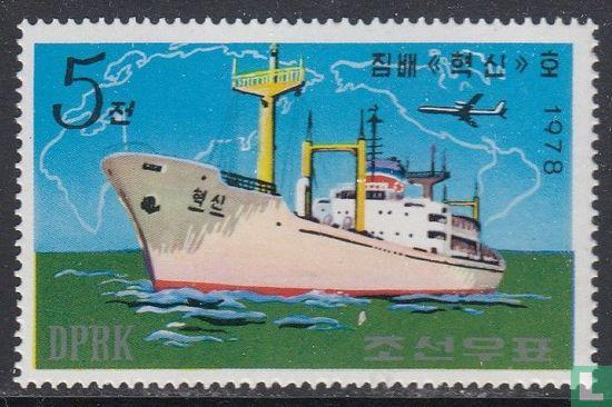 Noord-Korea - Koreaanse schepen
