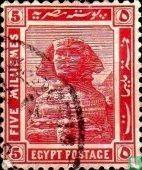 Egypte (U.A.R.) - Sfinks