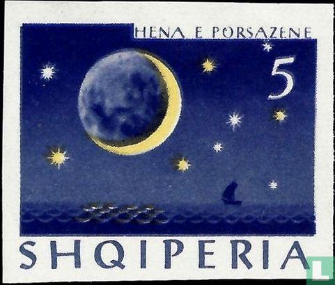 Albanien [ALB] - Zunehmender Mond