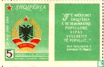 Albanien [ALB] - Unabhängigkeitskongress