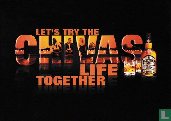 "Boomerang Freecards - B070203 - Chivas Regal ""Let´s Try The Chivas Life Together"""