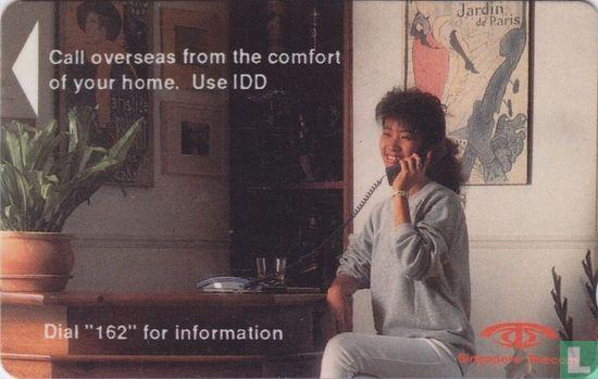 Singapore Telecom - Call overseas