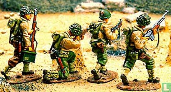 Three US Rangers plus a 29th Infantry Corporal - Afbeelding 1
