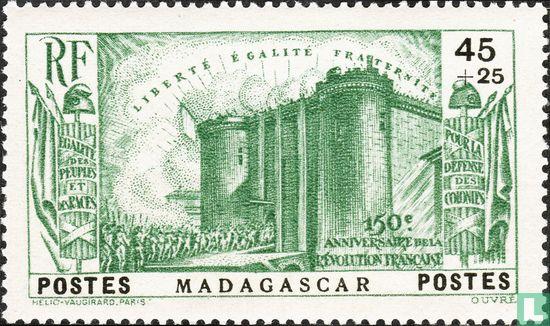 Madagaskar - Franse revolutie 150 jaar