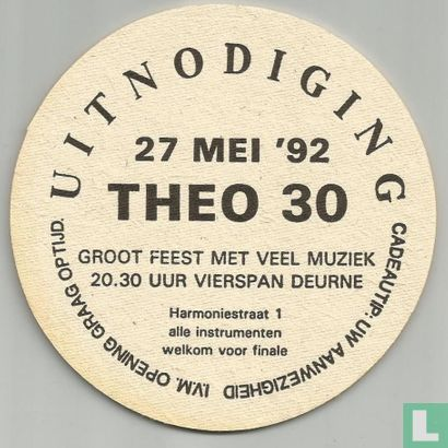 Niederlande (Holland) - 27 mei '92 Theo 30