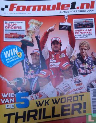 Formule 1  nl. 13