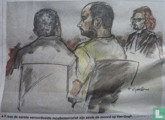 PZC - Malek F. eerste moslimterrorist na 'Van Gogh'