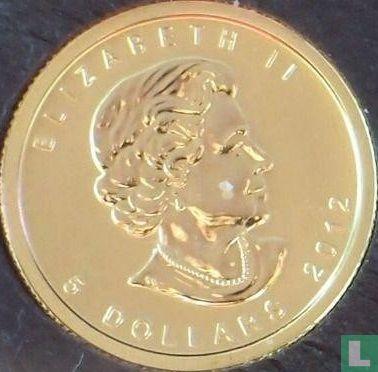 Canada 5 dollars 2012 (gold) - Image 1