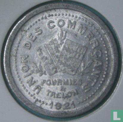 Fourmies et Trélon 5 centimes 1921 - Afbeelding 1