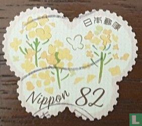 Japan [JPN] - spring greeting stamps