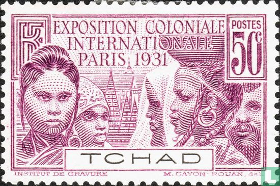 Chad - Colonial exhibition