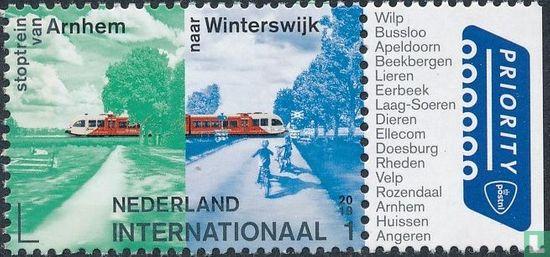 Nederland [NLD] - Stoptrein van Arnhem naar Winterswijk