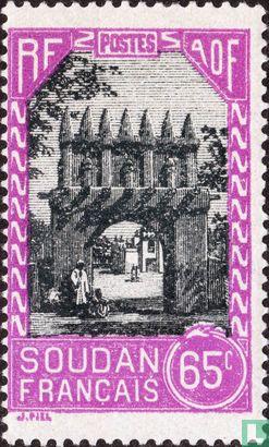 Französisch-Sudan - Tor von Djenné
