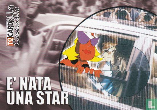 """ToCARD Cartoline Gratuite (logo) - 00004 - ToCARD """"E' Nata Una Star"""""""