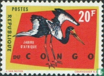 Congo-Kinshasa [COD] (Zaïre) - Beschermde vogels