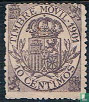 Spain [ESP] - Postal Stamp Tax Movil