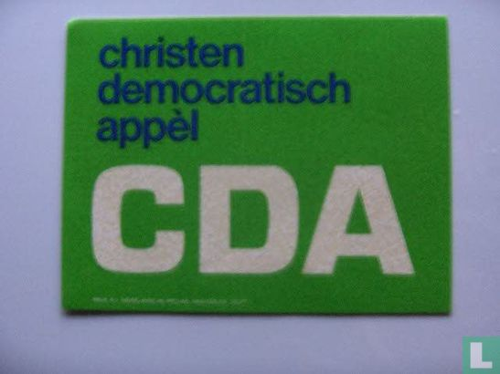 CDA - Christen democratisch appél