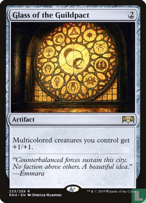 2019) Ravnica Allegiance - Glass of the Guildpact