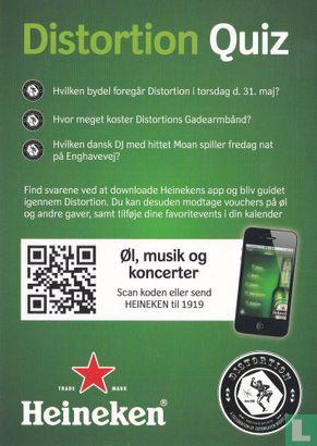 Go-card - 13374 - Heineken - Distortion Quiz