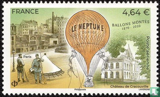 Frankreich [FRA] - 150 Jahre montierte Ballons