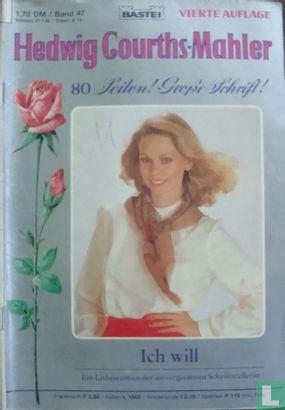 Hedwig Courths-Mahler Vierte Auflage 47 - Afbeelding 1