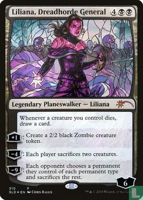 2019) Secret Lair Drop Series - Liliana, Dreadhorde General
