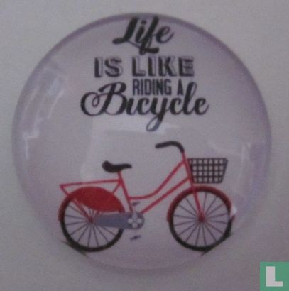 Life is like riding a Bicycle - Afbeelding 1