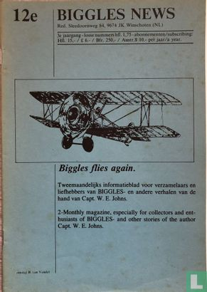 Biggles News Magazine 12 - Afbeelding 1