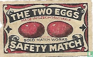 The two eggs - Safety Match