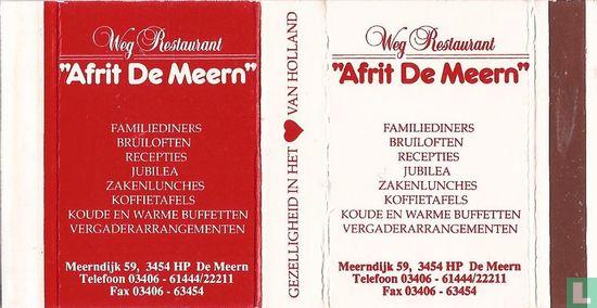 """Weg Restaurant """"Afrit De Meern"""""""