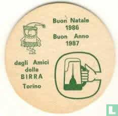 Italy - Buon Natale 1986 Buon Anno 1987